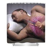 Sleep Apnea Shower Curtain