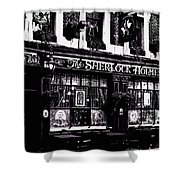 The Sherlock Holmes Pub  Shower Curtain