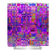 1302 Abstract Thought Shower Curtain