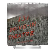 131 In The Clouds Shower Curtain