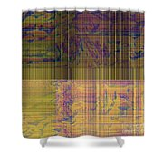 1319 Abstract Thought Shower Curtain