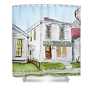 1327 Woerner Ave Shower Curtain