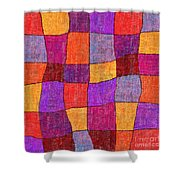 1343 Abstract Thought Shower Curtain