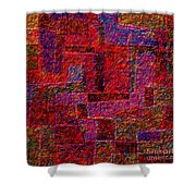 1346 Abstract Thought Shower Curtain