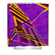 1359 Abstract Thought Shower Curtain