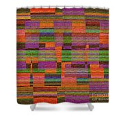 1365 Abstract Thought Shower Curtain