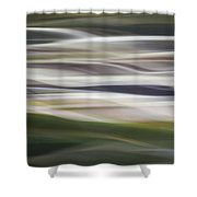 Blurscape Shower Curtain