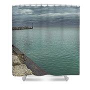 Breakwater Shower Curtain