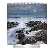 Challaborough Shower Curtain