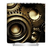 Cogs Shower Curtain