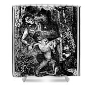 Davy Crockett (1786-1836) Shower Curtain