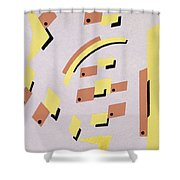Design From Nouvelles Compositions Decoratives Shower Curtain