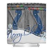 Indianapolis Colts Shower Curtain by Joe Hamilton