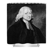 John Wesley (1703-1791) Shower Curtain