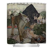Jungle Book, 1903 Shower Curtain