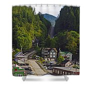 Ketchikan Alaska Shower Curtain