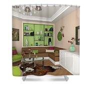 My Art In The Interior Decoration - Elena Yakubovich Shower Curtain