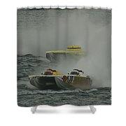 Port Huron Sarnia International Offshore Powerboat Race Shower Curtain