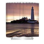 St Marys Lighthouse Shower Curtain