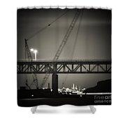 Tappan Zee Bridge Shower Curtain