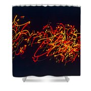 Plowing Snow II Shower Curtain