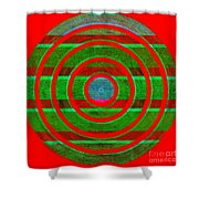 1407 Abstract Thought Shower Curtain