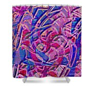 1412 Abstract Thought Shower Curtain