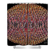 1458 Abstract Thought Shower Curtain
