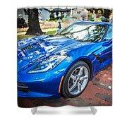 2014 Chevrolet Corvette C7 Shower Curtain