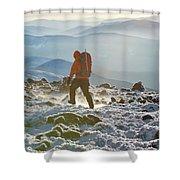 A Summit Intern Hikes The Northwest Shower Curtain