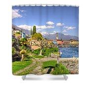 Alpine Village Shower Curtain