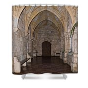 Ancient Spanish Monastery Shower Curtain