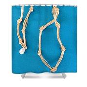 Aphrodite Gamelioi Necklace Shower Curtain