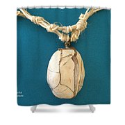 Aphrodite Urania Necklace Shower Curtain