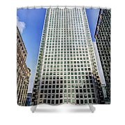 Canary Wharf Tower Shower Curtain