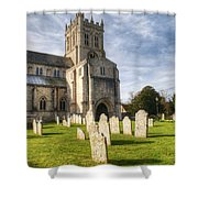 Christchurch Priory Shower Curtain