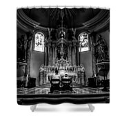 Church Of Saint Agnes Shower Curtain