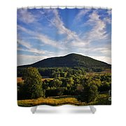 Moodna Viaduct Trestle Shower Curtain