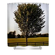 Orange County Park Shower Curtain