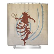 The Wise Virgin Shower Curtain