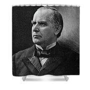 William Mckinley (1843-1901) Shower Curtain