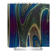 1501 Abstract Thought Shower Curtain