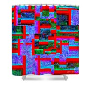 1520 Abstract Thought Shower Curtain
