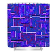 1527 Abstract Thought Shower Curtain