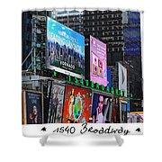 1540 Broadway Shower Curtain