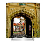 1540 Entrance To Enkhuizen-netherlands Shower Curtain