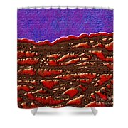 1551 Abstract Thought Shower Curtain