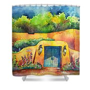 157 Old Lamy Trail Shower Curtain