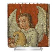 15th Century Angel Painting 6 Shower Curtain