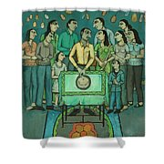 15th Of March Shower Curtain